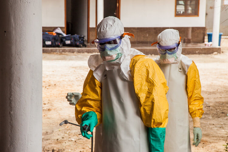 Message from the Director: 3 BARDA scientists recognized for their contributions to Ebola control